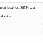 Un exemple d'appel avec PageMethods